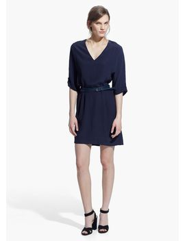 detachable-belt-dress by mango