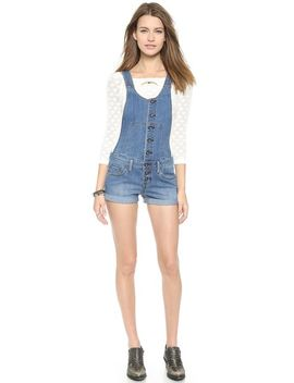 century-button-front-shortalls by free-people