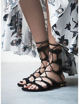 lina-lace-up-sandal by free-people