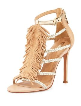 carmen-fringed-sandal,-gold by schutz