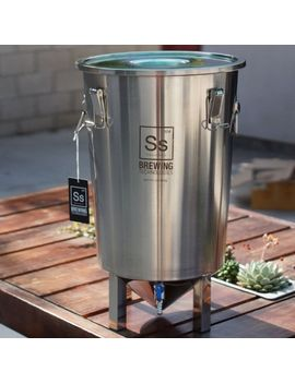ss-brewing-tech-the-brew-bucket-conical-fermenter-stainless-fermentor-beer-wine by ebay-seller