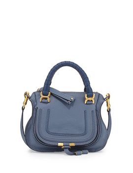 marcie-mini-shoulder-bag,-street-blue by chloe