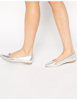 asos-life-story-pointed-ballet-flats by asos-collection