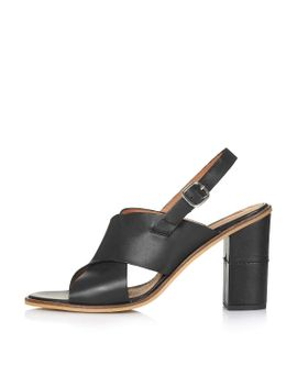 ranch-square-toe-sandals by topshop
