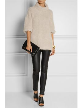 stretch-leather-leggings by helmut-lang