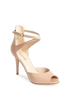 doreen-leather-ankle-strap-sandal by nine-west