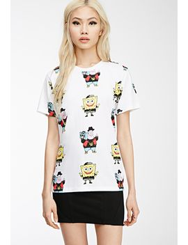 spongebob-x-mina-kwon-graphic-tee by forever-21