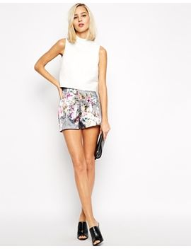 river-island-floral-tailored-short by river-island