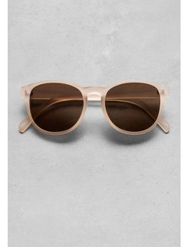 round-frame-sunglasses by &-other-stories