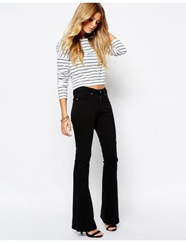 noisy-may-amy-flared-jeans by noisy-may