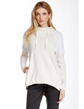 shore-hi-lo-pullover-hoodie by alo