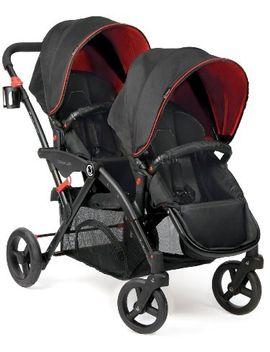 contours-options-elite-tandem-stroller,-red-velvet by contours