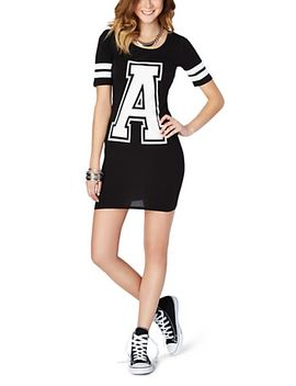 varsity-letter-body-con-dress by rue21