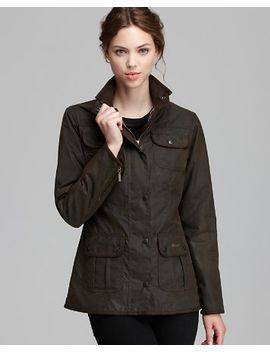 barbour-jacket by utility-lightweight-waxed-cotton