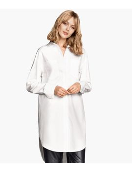 oversized-cotton-shirt by h&m