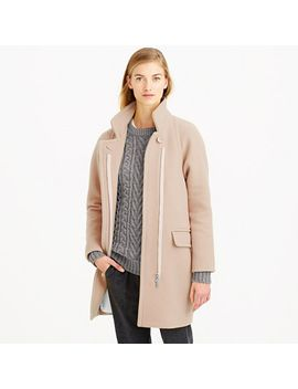 stadium-cloth-standing-collar-coat by jcrew