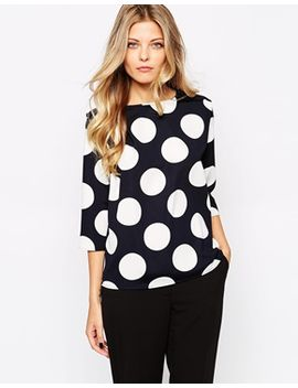 mango-large-spot-top by mango
