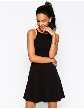 asos-90s-skater-dress-with-high-neck by asos-collection