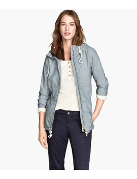 cotton-twill-jacket by h&m
