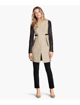 cotton-blend-coat by h&m