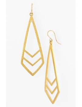be-your-own-kind-of-beautiful-boxed-chevron-drop-earrings by dogeared