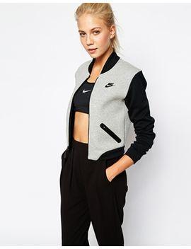 nike-luxury-fleece-bomber-jacket by nike