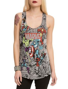 marvel-group-comic-girls-tank-top by hot-topic