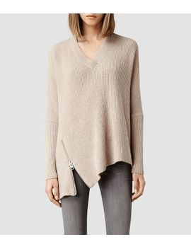 able-zip-sweater by allsaints