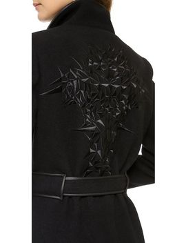 coat-with-embroidered-back by gareth-pugh