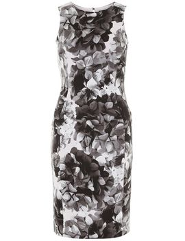black-floral-pencil-dress by dorothy-perkins