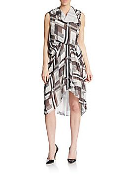 tornado-printed-silk-sleeveless-dress by rick-owens