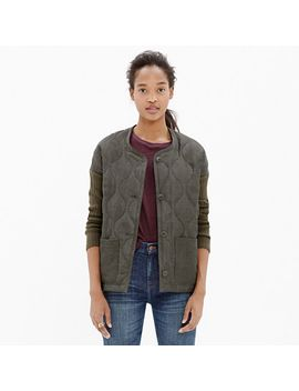 quilted-rib-sleeve-jacket by madewell