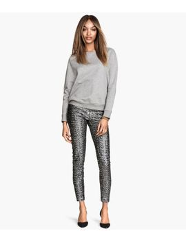 sequined-pants by h&m