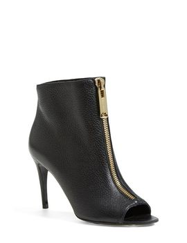 haverstock-zip-open-toe-bootie by burberry