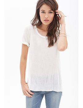 sheer-lightweight-slouchy-tee by forever-21