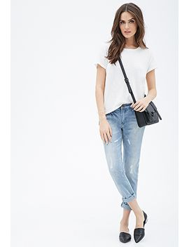 mid-rise-slim-boyfriend-jeans by forever-21