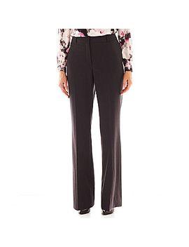 liz-claiborne®-curvy-fit-elizabeth-secretly-slender-bootcut-trousers by liz-claiborne