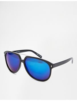 pieces-coolness-d-frame-sunglasses by pieces