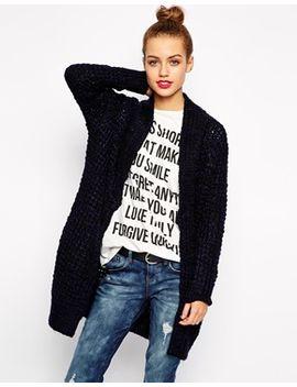new-look-twist-yarn-coatigan by new-look