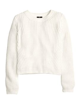 rib-knit-top by h&m