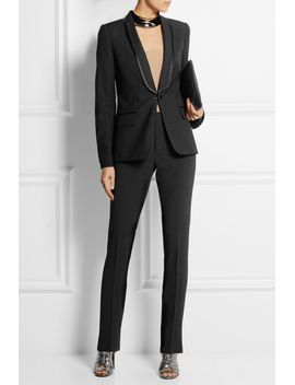 split-back-stretch-wool-blazer by maison-margiela