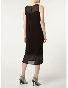 chiffon-jersey-shift-dress by dorothy-perkins
