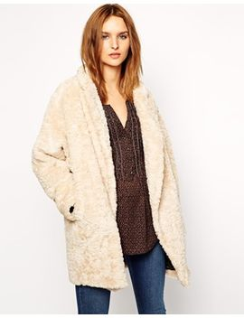 maison-scotch-faux-fur-coat by maison-scotch