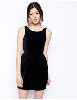 jack-wills-collingam-velvet-dress by jack-wills