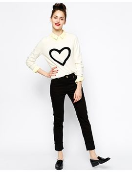 love-moschino-high-waist-slim-fit-jeans-with-love-pocket by love-moschino