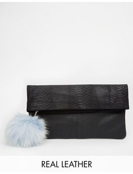 river-island-pom-pom-clutch by river-island