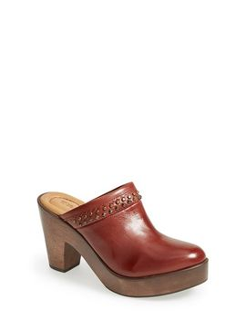 reese-leather-clog by trask