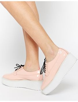 yes-selfie-flatform-lace-up-shoes by yes