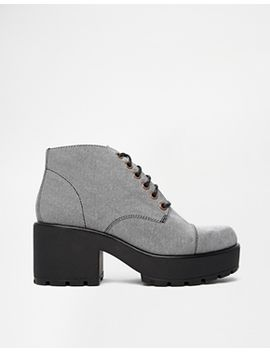 vagabond-dioon-light-grey-heeled-ankle-boots by vagabond