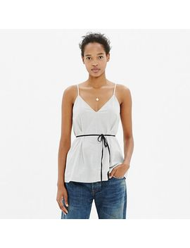 tie-waist-cami by madewell